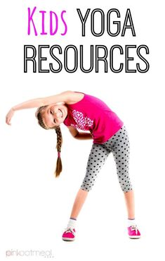 Kids yoga resources including websites, videos, themed yoga,and yoga card resources.  Great information to get kids yoga started or learn more!