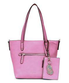 Another great find on #zulily! Mauve Large Danielle Tote #zulilyfinds