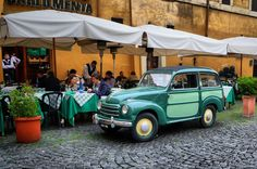 Restaurante de Trastevere, em Roma, Itália