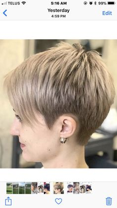 New Short Hairstyles - December 23 2018 at Short Haircut Styles, Short Pixie Haircuts, Cute Hairstyles For Short Hair, Pixie Hairstyles, Glasses Hairstyles, Short Grey Hair, Short Hair Cuts For Women Edgy, Haircut For Older Women, Hair Styles 2016