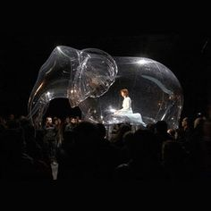 Inflatable Sculptural Installations by Victorine Muller