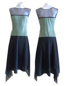 Asymmetric Hand-wash Only Regular Size Dresses for Women Mid Length Dresses, Mod Dress, Designer Dresses, Skater Skirt, Best Deals, Green, Skirts, Shopping, Fashion