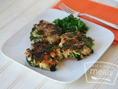 Paleo Turkey & Sweet Potato Patties - Whole30 Compliant - Once A Month Meals - Freezer Meals - Freezer Recipes - OAMM - OAMC
