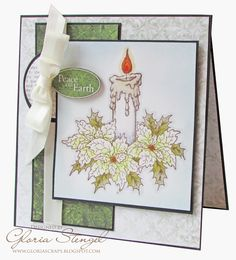 Scraps of Life: Heartfelt Creations Wednesday - Peace on Earth