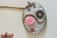 Embellishing epoxy jewelry clay  - learn to DIY with this blog tutorial from Rings & Things.
