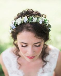 Natural Bridal Makeup, Bohemian Bride, Country Bride