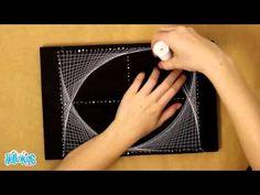 Geometric String Art (Hellokids) - YouTube