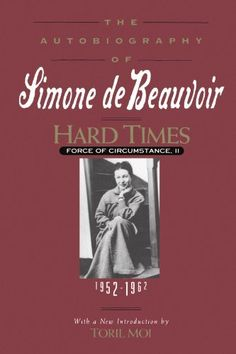 The autobiographies of Simone de Beauvoir