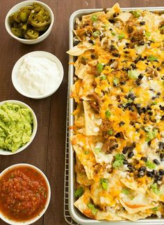 Game Day Nachos Tray  #smirnoffsorbet