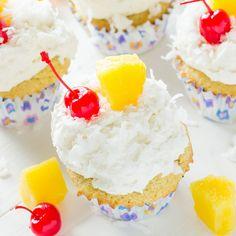 coconut cupcakes almond joy international delight