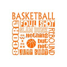 Basketball Sports Subway Vinyl Wall Kids Bedroom by TheVinylLetter Basketball Bedroom, Basketball Wall, Basketball Gifts, Basketball Awards, Silhouette Sign, Silhouette Cameo Projects, Subway Art, Subway Tile, Basketball Drawings