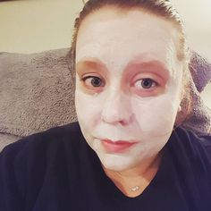 Mask time! @palmettoderma Rejuvenating Antioxidant Mask. This is my first time using it but so far I am really liking it. It has a nice light scent and little scrubbies in it which is awesome when you have super dry skin like I do. After using it a few more times I will give a full review :) #palmettoderma #boxycharm #boxybeauty #subscriptionbox #facemask #facesofthemoon #mua #makeupaddict #makeup #makeupjunkie #undiscovered_muas #aspiringmua #kathleenlights #jambeauty89 by nicoleashbeauty