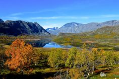 Norway - Jotunheimen in autumn - null