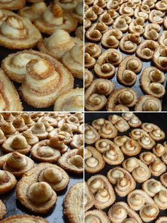 dulcis in fundo: Orejitas (Sugar and cinnamon cookies) Cinnamon Desserts, Cinnamon Cookies, No Cook Desserts, Cookie Desserts, Dessert Recipes, Dessert Ideas, My Recipes, Mexican Food Recipes, Baking Recipes