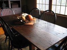 farm tables - Primitive Kitchen Tables