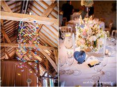 Barn wedding details