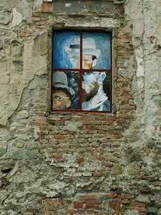 Freiburg between Dublin and London: World Street Art 3d Street Art, Street Art Graffiti, Vincent Van Gogh, Van Gogh Self Portrait, World Street, Street Gallery, Chalk Art, Public Art, Urban Art