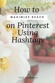 How to maximize reach on Content Marketing, Media Marketing, Affiliate Marketing, Social Marketing, Marketing Strategies, Marketing Ideas, How To Use Hashtags, Pinterest For Business, Seo Tips