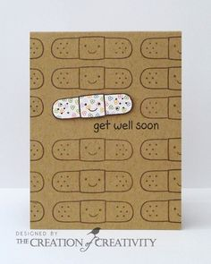 The Creation of Creativity: Jay Gee's Nook DT: Get well soon...