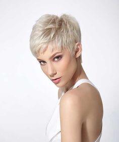 13. Corte de pelo corto para el pelo recto fino