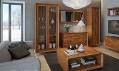 System Enzo - stylowe meble do dużego pokoju, salonu i gabinetu dostępne na www.meblando.pl