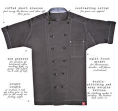 BUTCHER AND BAKER CHEF COAT | Butcher and Baker