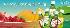 Alo Refresh, Alo juice, alojuice, aloe vera juice, pomegranate, beverage, pineapple, healthy drinks, mango, raspberry, alodrink alo drink, jugo de sabila, jugo de aloe, refreshing, delicious www.alojuice.net  fb.com/alojuices