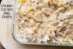 Chicken Cordon Bleu Pasta Recipe on 5DollarDinners.com