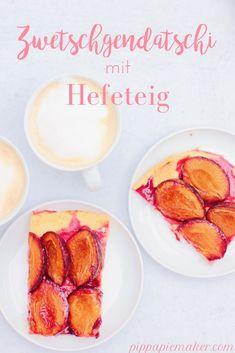 Bayerischer Zwetschgendatschi mit Hefeteig - Pippa Pie-Maker