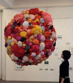 Soft Mocomoco Sculptures by Natsuko Hattori