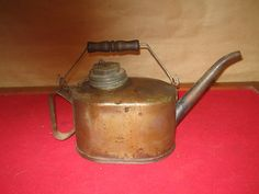 Antique Eagle Oil Lamp Can | eBay