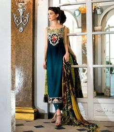 Tabassum Mughal Luxury Lawn Collection 2015 TM-10A