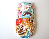 Multicolor floral baby swaddler   #baby shower gift