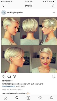 Next hair length after the pixie?