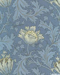 Morris & Company - Wildwood Flower - Delft Blue