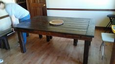 Oak Creek, Perfectly Imperfect, Wisconsin, Woodworking, Table, Furniture, Home Decor, Decoration Home, Room Decor