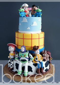 Toy Story Wedding Cake!