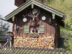 Perfectly Stacked Woodpiles -Mittenwald, Germany