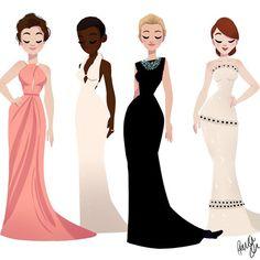 Oscar Dresses 2015! (Anna Kendrick, Lupita Nyong'o, Cate Blanchett, and Julianne Moore) Pernille Orum