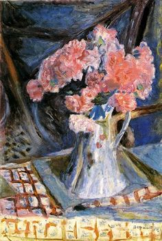 Bonnard. Fine color and application of paint. One of my favorite painters