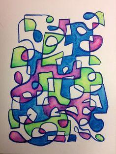 7x10 watercolor - Kevin Houchin - June 2013