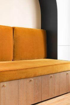 Aménagement sur-mesure arche Paris - Heju Studio   #drawer #pulls #and #knobs #black