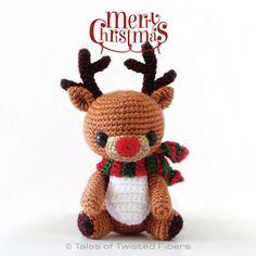Rody, the reindeer amigurumi free pattern