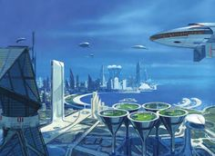 For the launch, the unique touch was the commissioning of the famous Hollywood futurist-designer,Syd Mead,to render a visualization of Doha in 2050, from a Qatar Steel perspective.