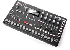 Detailed Product Information on Elektron Analog Four at www. Definitely Maybe, Drum Machine, Recording Studio, Lab, Google Search, Labs, Labradors, Music Studios
