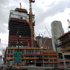 LA construction for another #highrise #downtownLA 10.2015