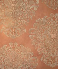 Hmmmm. The walls in our guest bedroom look just like this terra cotta color. I could add some stencil this color on top of the existing paint. The room has been as it is for 7 years -- could be time for a slight refresh!