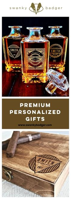 Personalized Groomsmen Gifts and Gifts for Men from Swanky Badger are the perfect solution for any gifting occasion.   With a range of gifts that can be personalized to feature names, significant dates, or a personal message of your choice, Swanky Badger products feature the dandiest of details to delight the dudes you hold so dear.   www.swankybadger.com