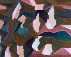 northmagneticpole: We Are Here, Mink Pattern Art, Abstract Pattern, Bram Van Velde, Visual Diary, Contemporary Paintings, Mink, Illustration Art, Illustrations, Geometric Painting