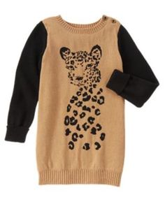 7d3c4ea1655 815 NWT Gymboree Right Meow Sweater Dress Long Sleeve 4 5 8  Gymboree Long  Sweater